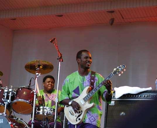 Femi Kuti - Lollapalooza - Chicago, IL - 08/03/2007 - Photo © 2007 by: Beth Shandles