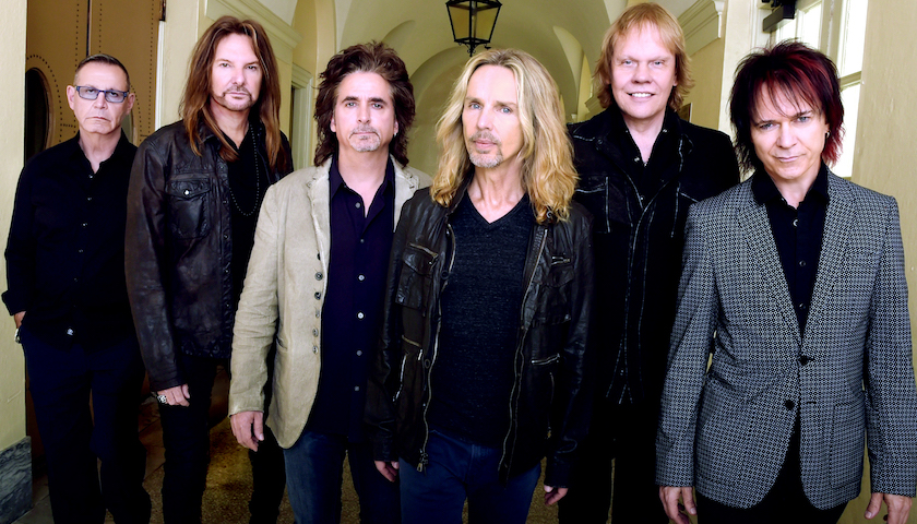 With Frank Lucas: Lawrence Gowan 1