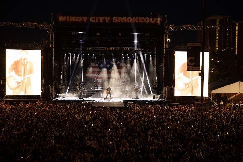 Chris Young at Windy City Smokeout 7