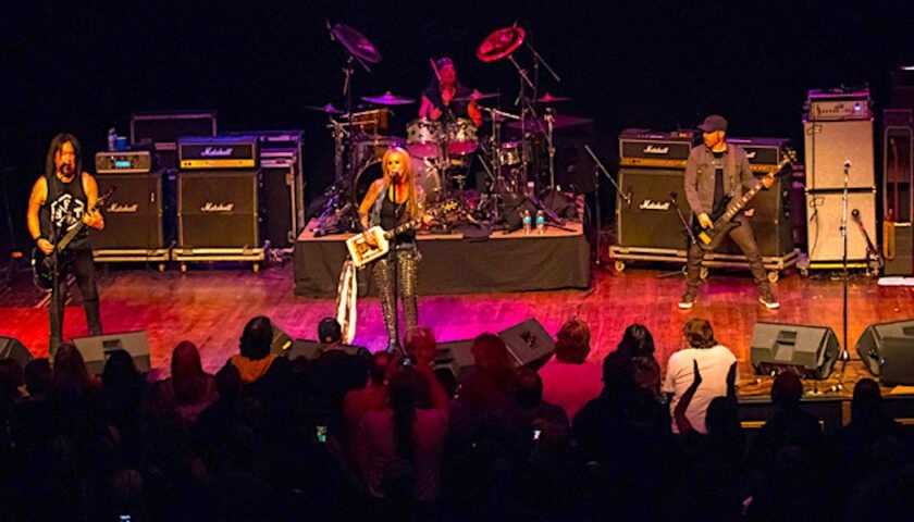Lita Ford Live at Arcada Theatre