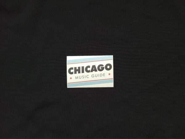 Chicago Music Guide Logo Sticker