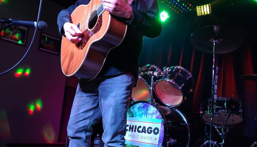 AJ Rosales - Chicago Music Guide - 04/3/2021 - Photo © 2021 by: Dennis M. Kelly