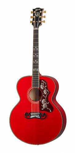 Gibson Announces Orianthi SJ-200 Acoustic Guitar in Cherry, Available Worldwide on Gibson.com 2