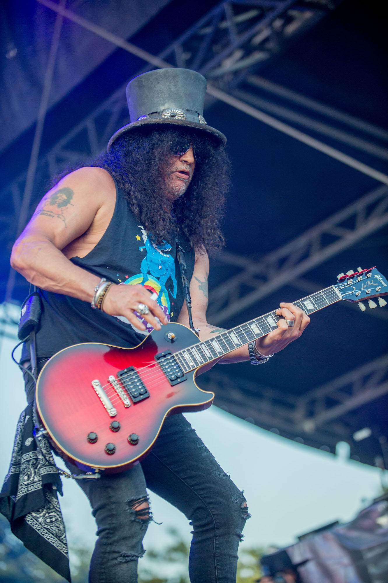 SLASH Featuring Myles Kennedy And The Conspirators Live at Lollapalooza [GALLERY] 10