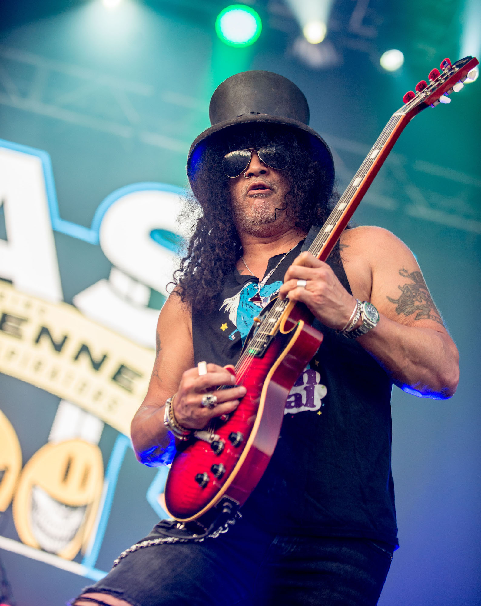 SLASH Featuring Myles Kennedy And The Conspirators Live at Lollapalooza [GALLERY] 18