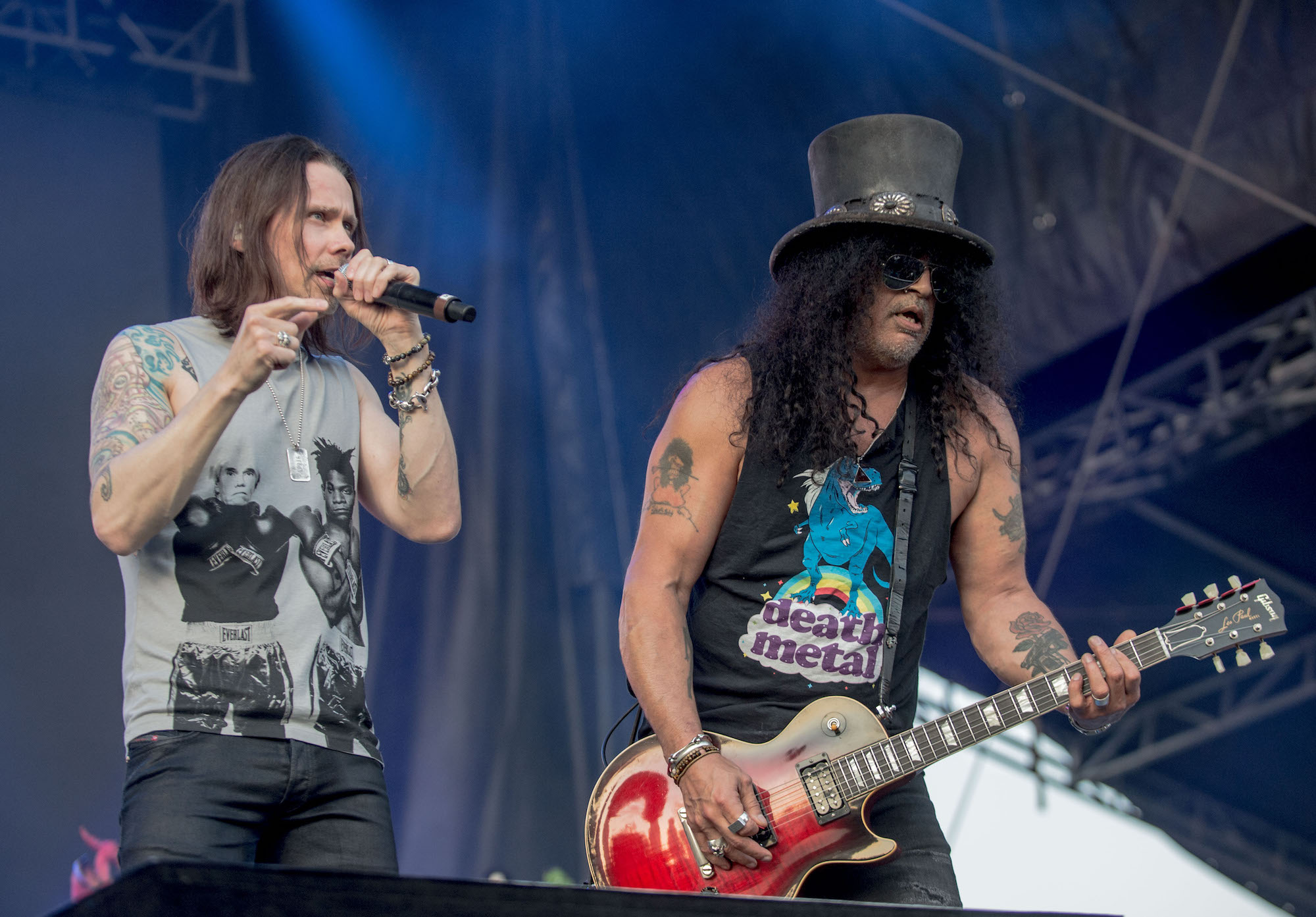 SLASH Featuring Myles Kennedy And The Conspirators Live at Lollapalooza [GALLERY] 7