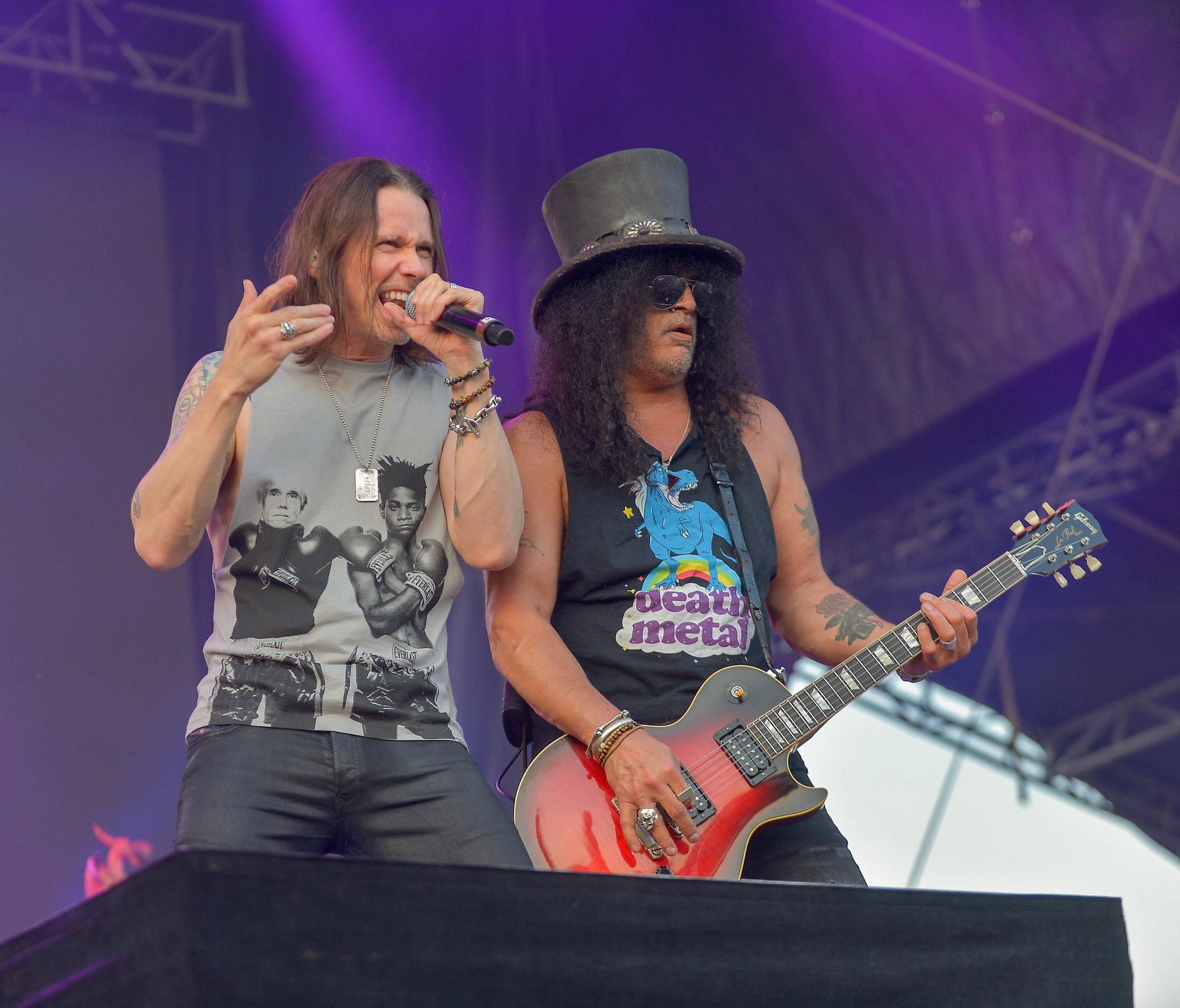 SLASH Featuring Myles Kennedy And The Conspirators Live at Lollapalooza [GALLERY] 8