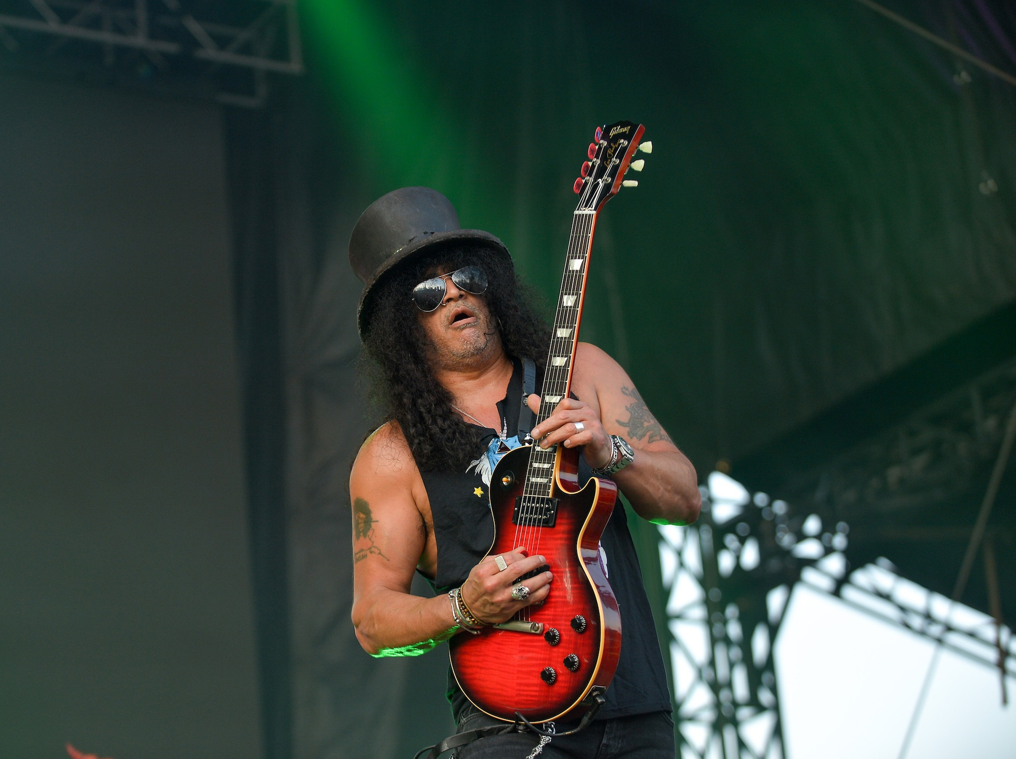 SLASH Featuring Myles Kennedy And The Conspirators Live at Lollapalooza [GALLERY] 6