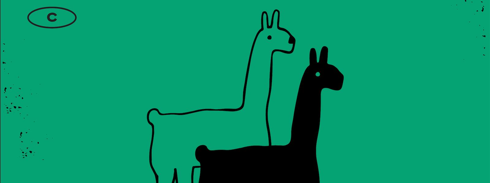 Midcentury Llama