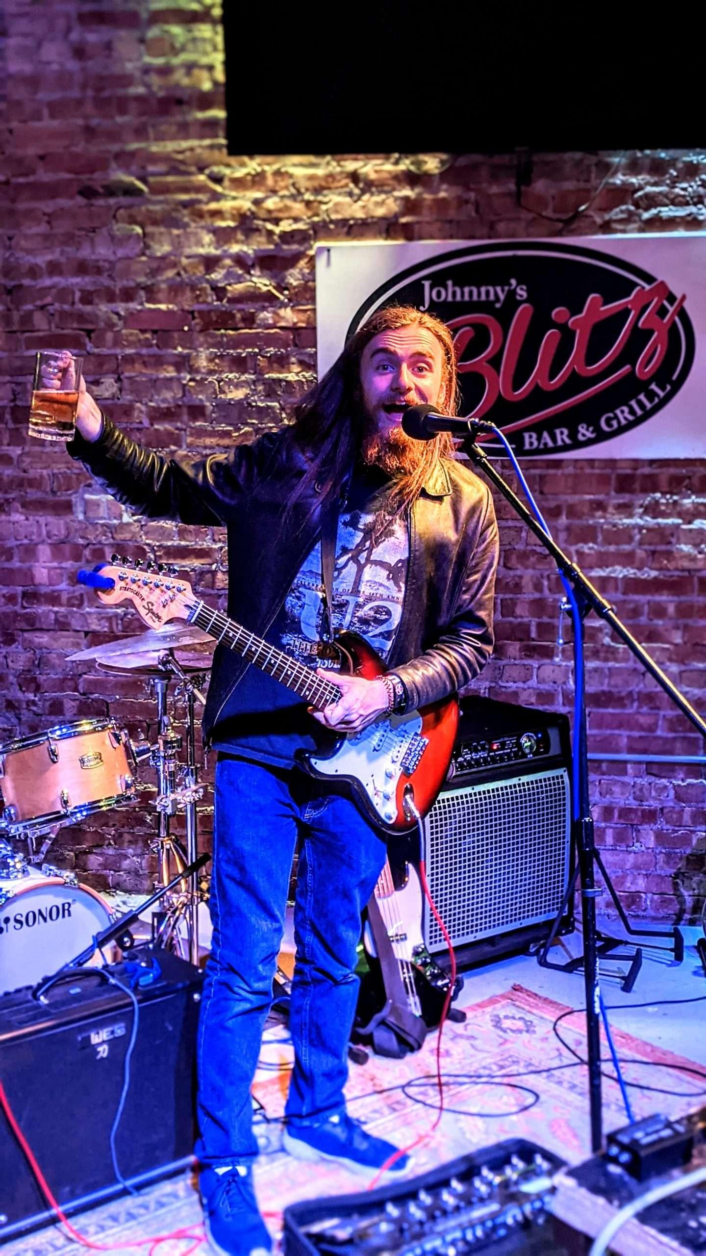 Brian's Open Mic Experiences At Johnny's Blitz Bar & Grill 58