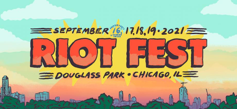 Riot Fest Announce 2021 Lineup
