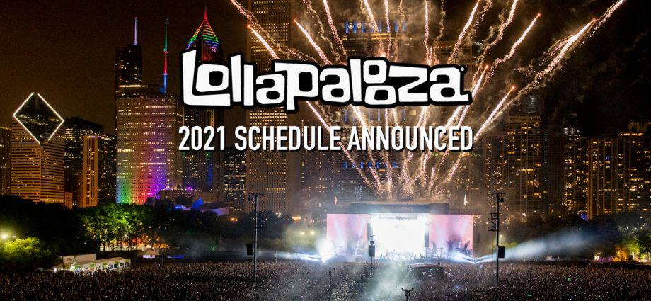 Lollapalooza Full 2021 Schedule