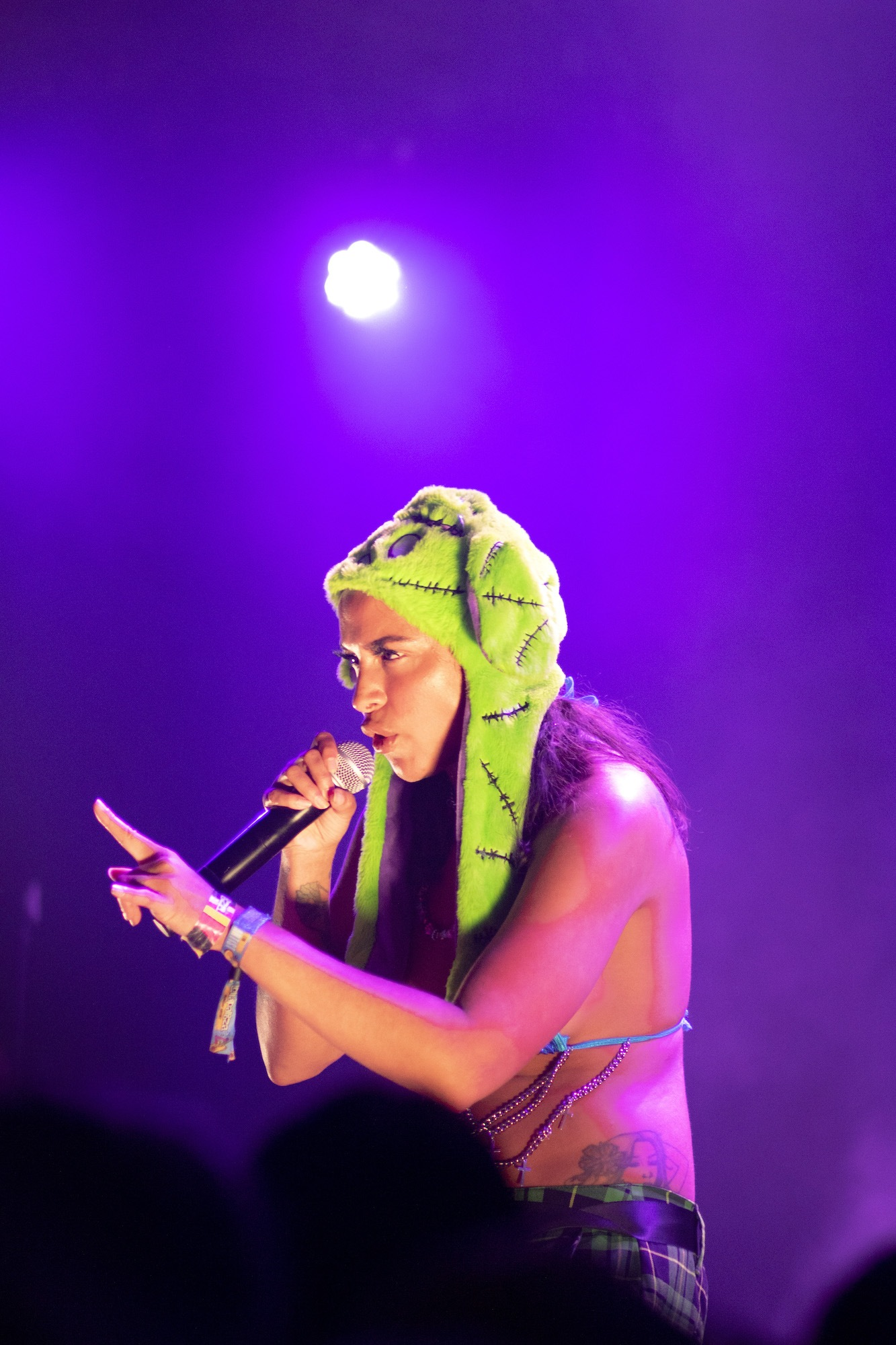 Princess Nokia - Official Lollapalooza Aftershow - Lincoln Hall - Chicago, IL - 08/01/2021 - Photo © 2021 by: Riley James
