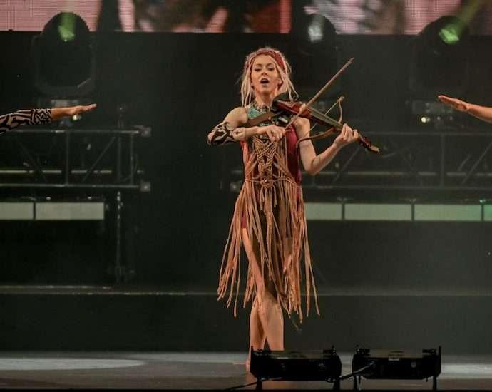 Lindsey Stirling Live at Huntington Bank Pavilion