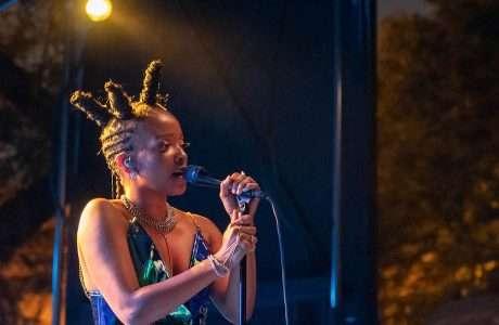 Jamila Woods Live at Pitchfork