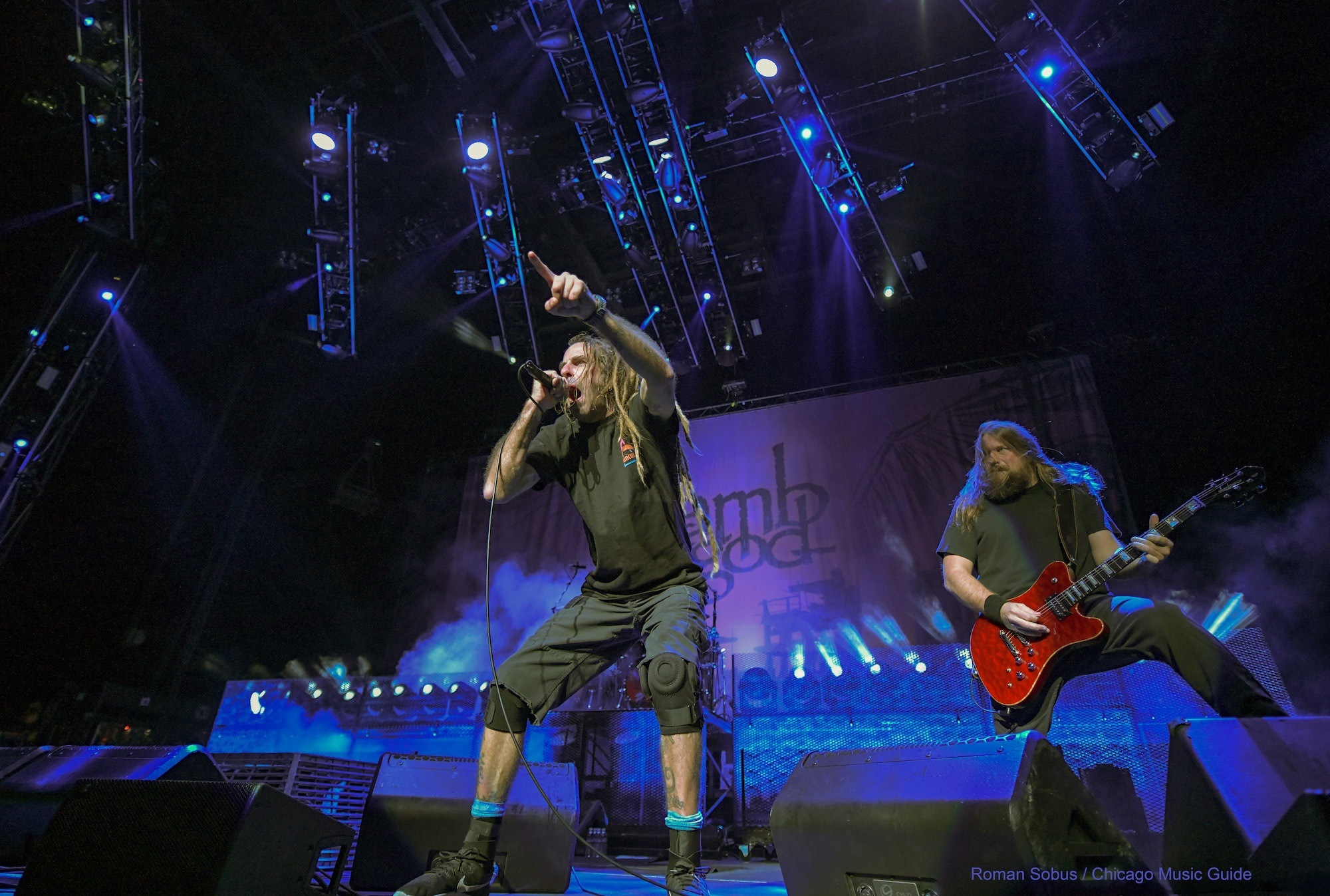 Lamb of God Live at Hollywood Casino Amphitheatre [GALLERY] 1