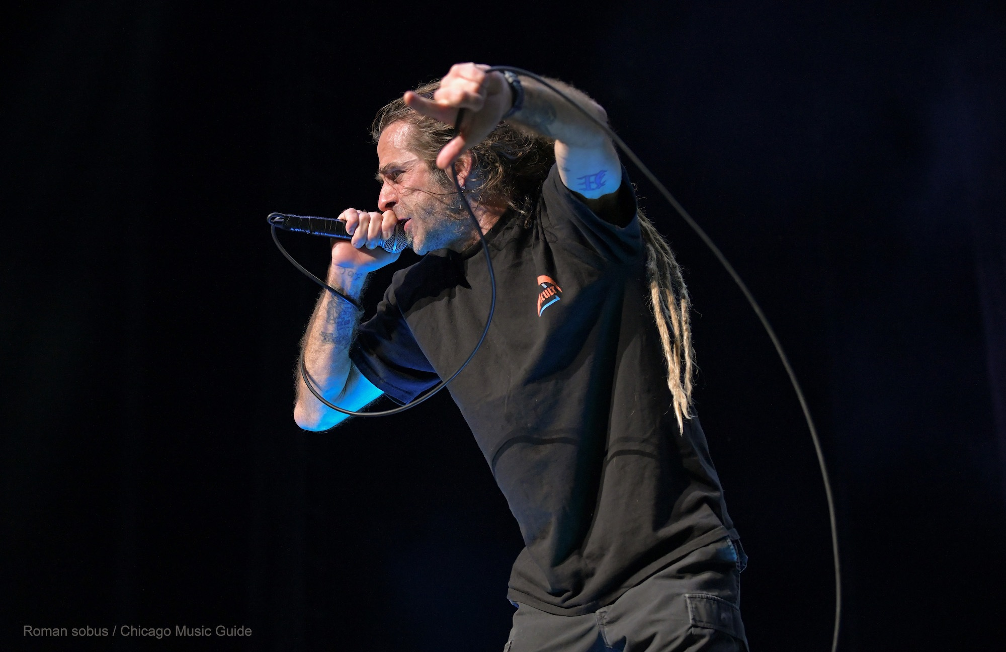 Lamb of God Live at Hollywood Casino Amphitheatre [GALLERY] 2
