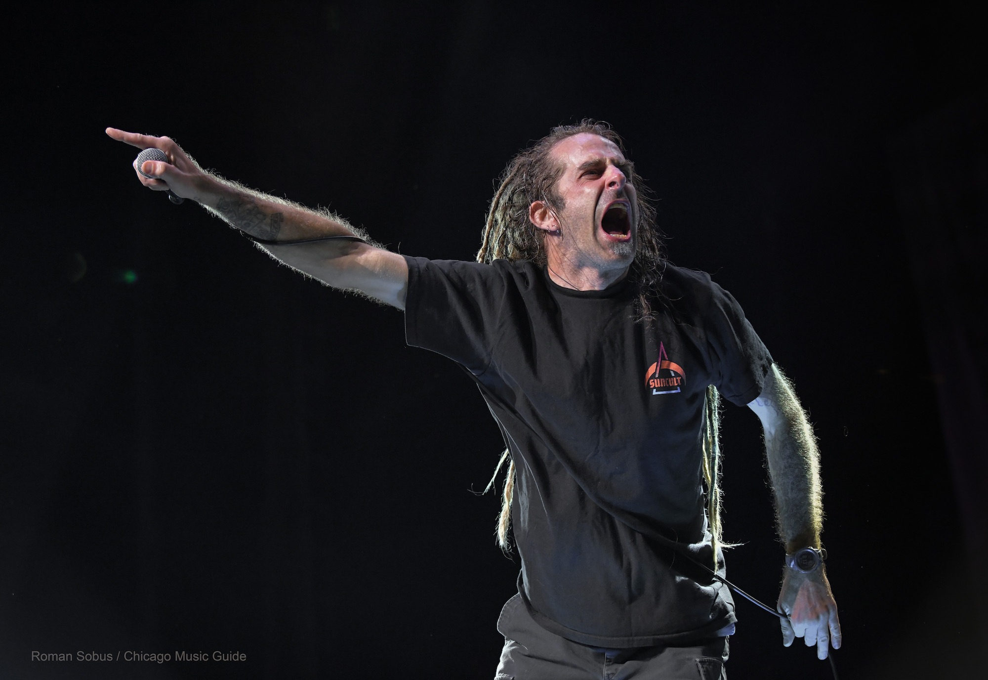Lamb of God Live at Hollywood Casino Amphitheatre [GALLERY] 4