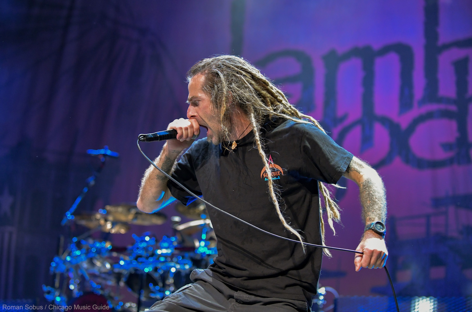 Lamb of God Live at Hollywood Casino Amphitheatre [GALLERY] 8