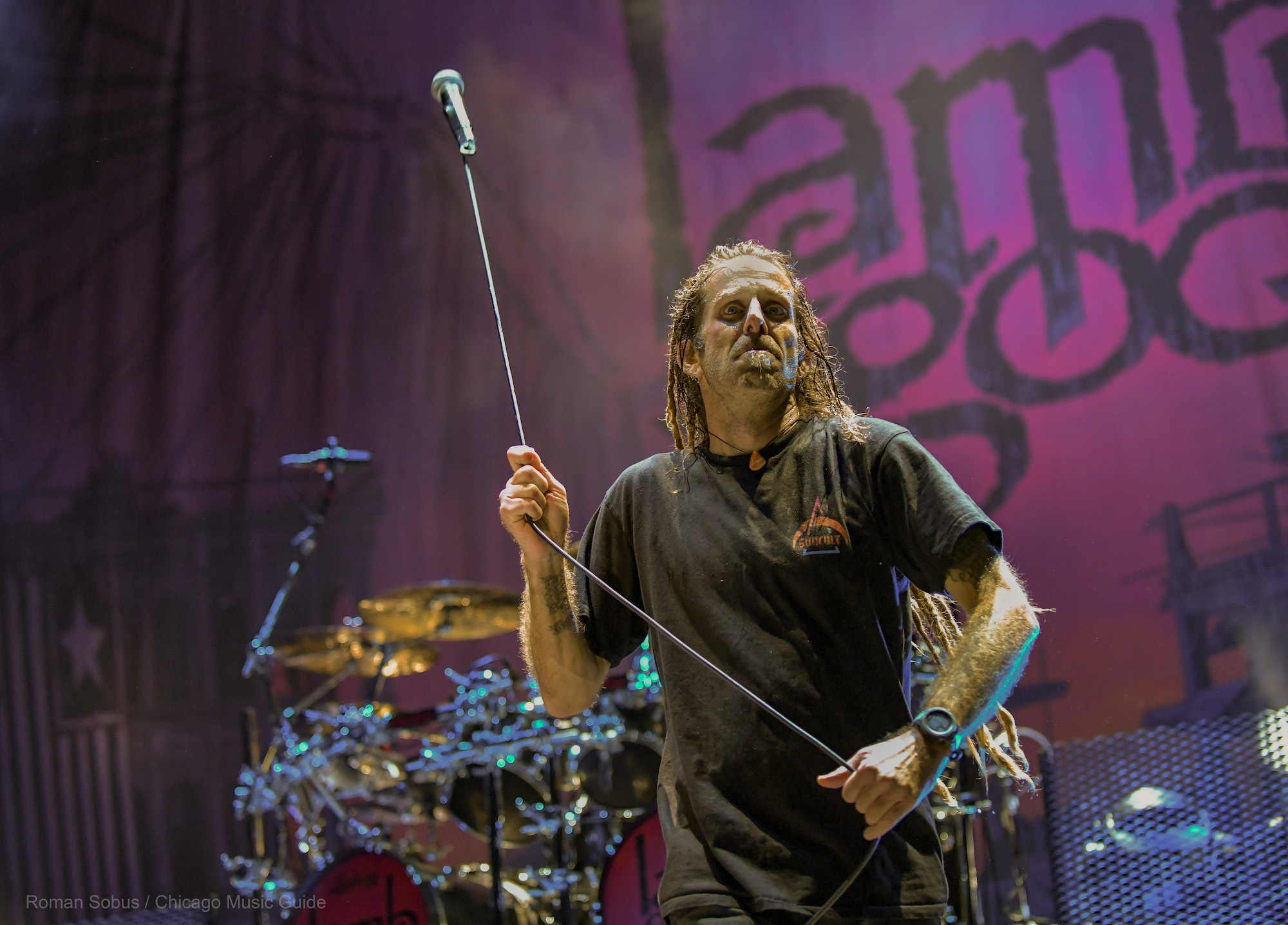 Lamb of God Live at Hollywood Casino Amphitheatre [GALLERY] 9