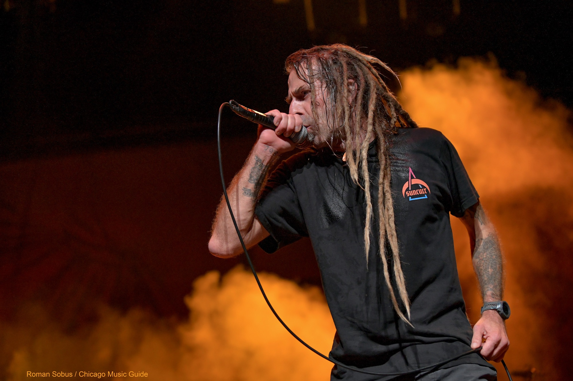 Lamb of God Live at Hollywood Casino Amphitheatre [GALLERY] 11
