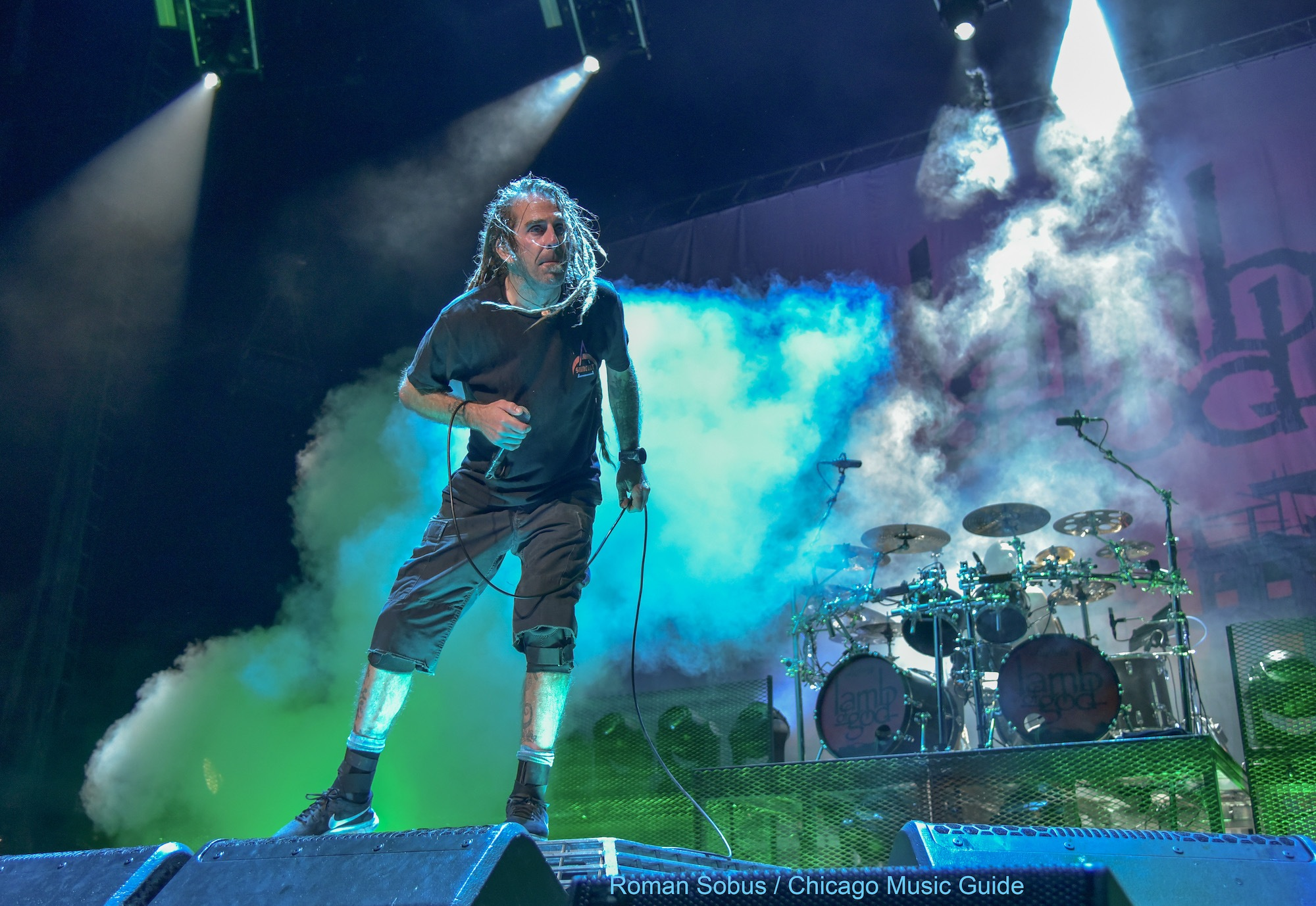 Lamb of God Live at Hollywood Casino Amphitheatre [GALLERY] 12
