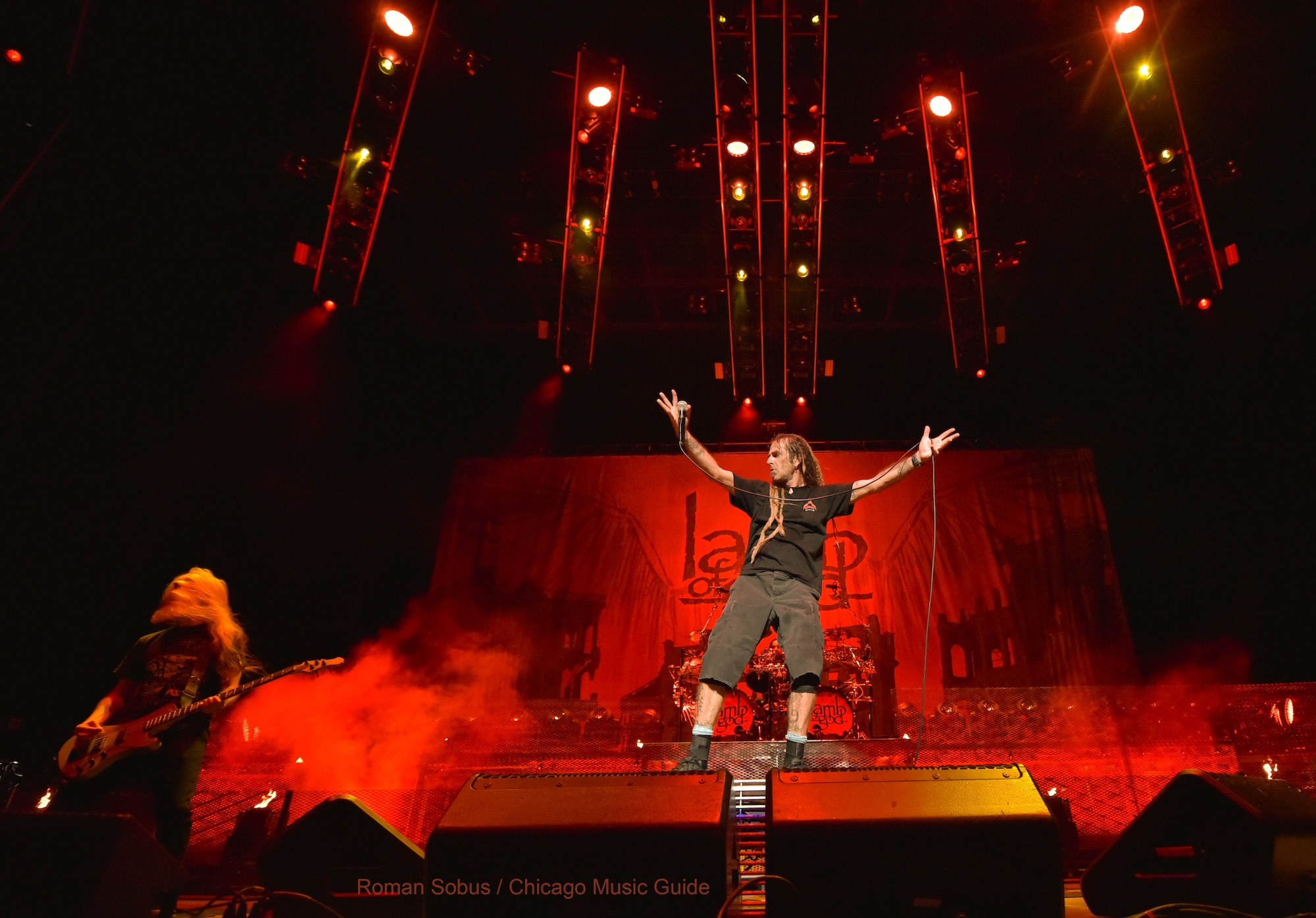 Lamb of God Live at Hollywood Casino Amphitheatre [GALLERY] 14