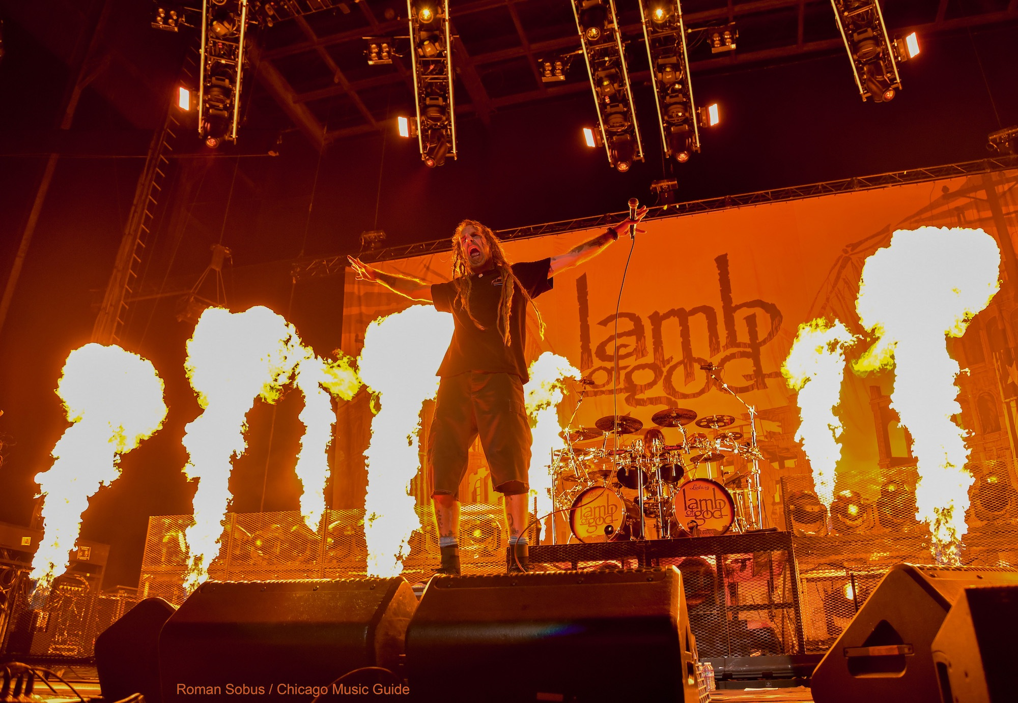 Lamb of God Live at Hollywood Casino Amphitheatre [GALLERY] 16