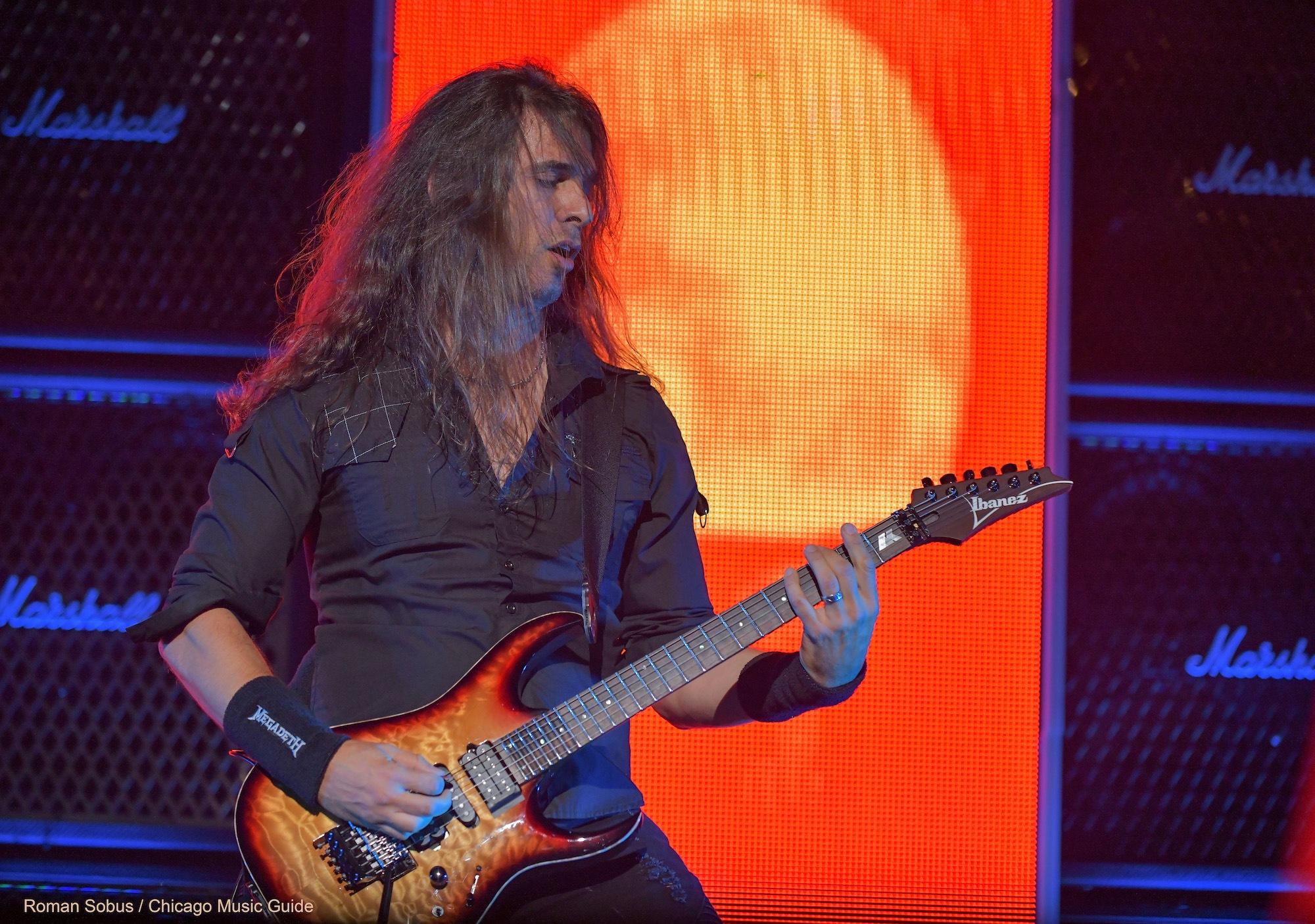 Megadeth Live at Hollywood Casino Amphitheatre [GALLERY] 9