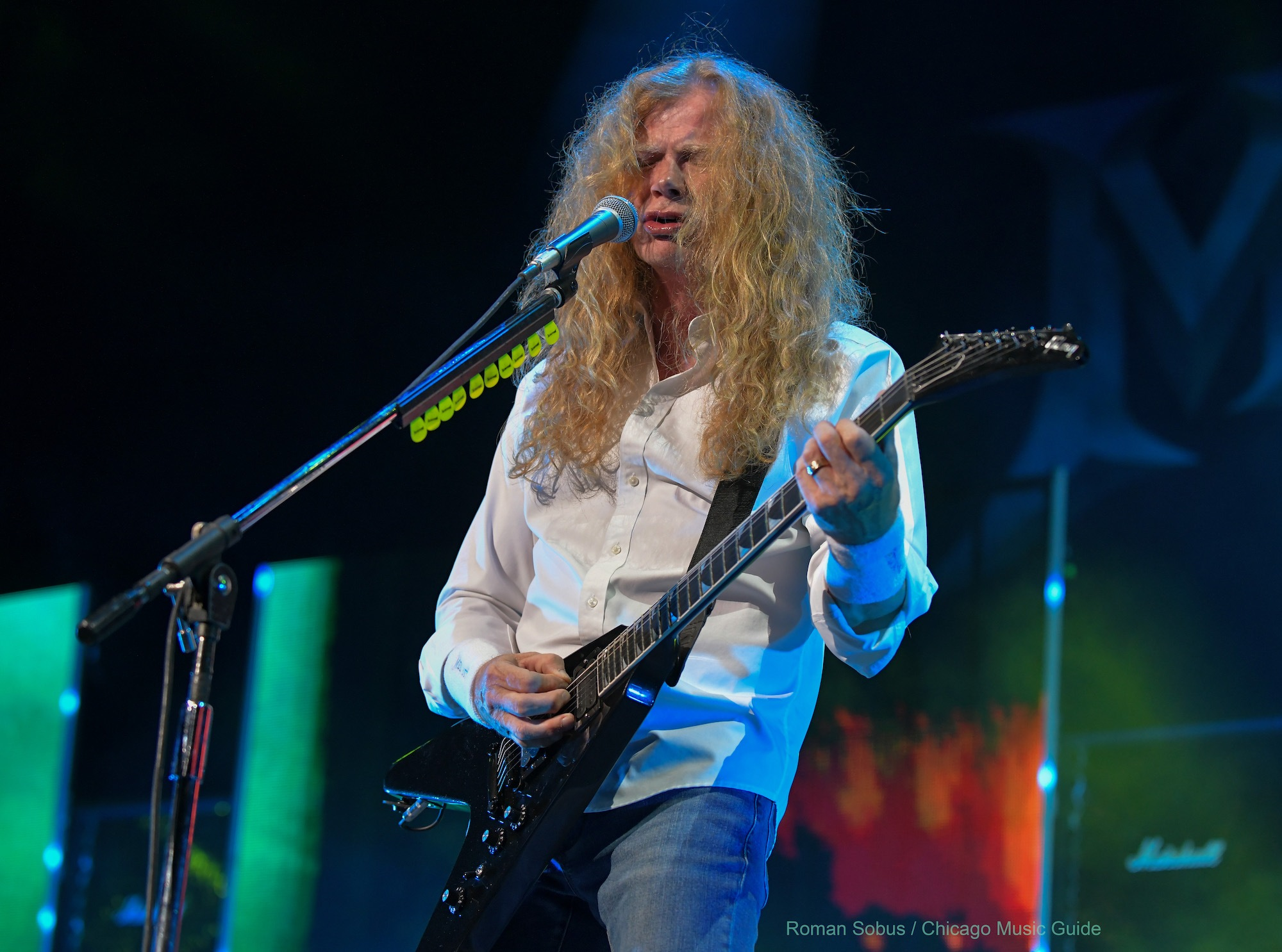 Megadeth Live at Hollywood Casino Amphitheatre [GALLERY] 12