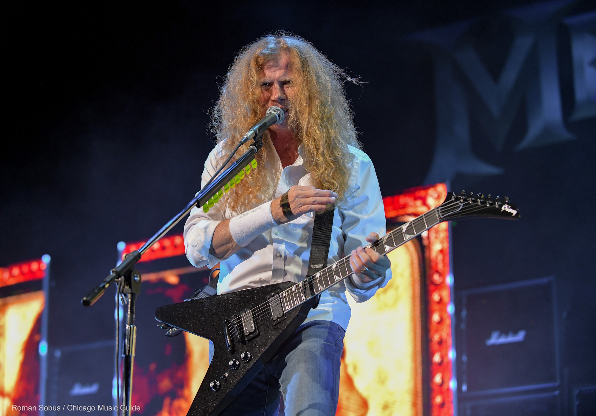 Megadeth Live at Hollywood Casino Amphitheatre [GALLERY] 16