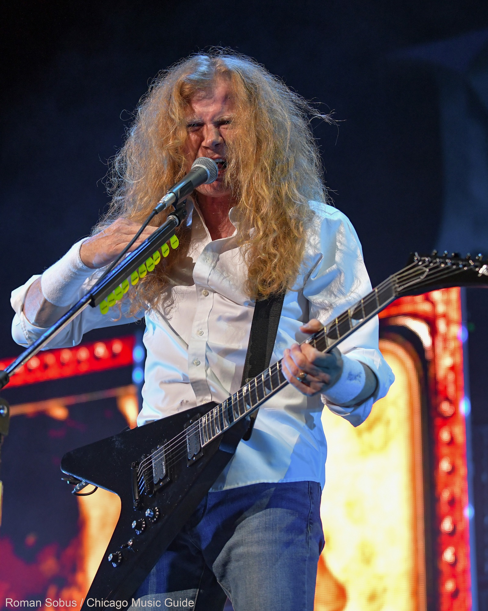 Megadeth Live at Hollywood Casino Amphitheatre [GALLERY] 1