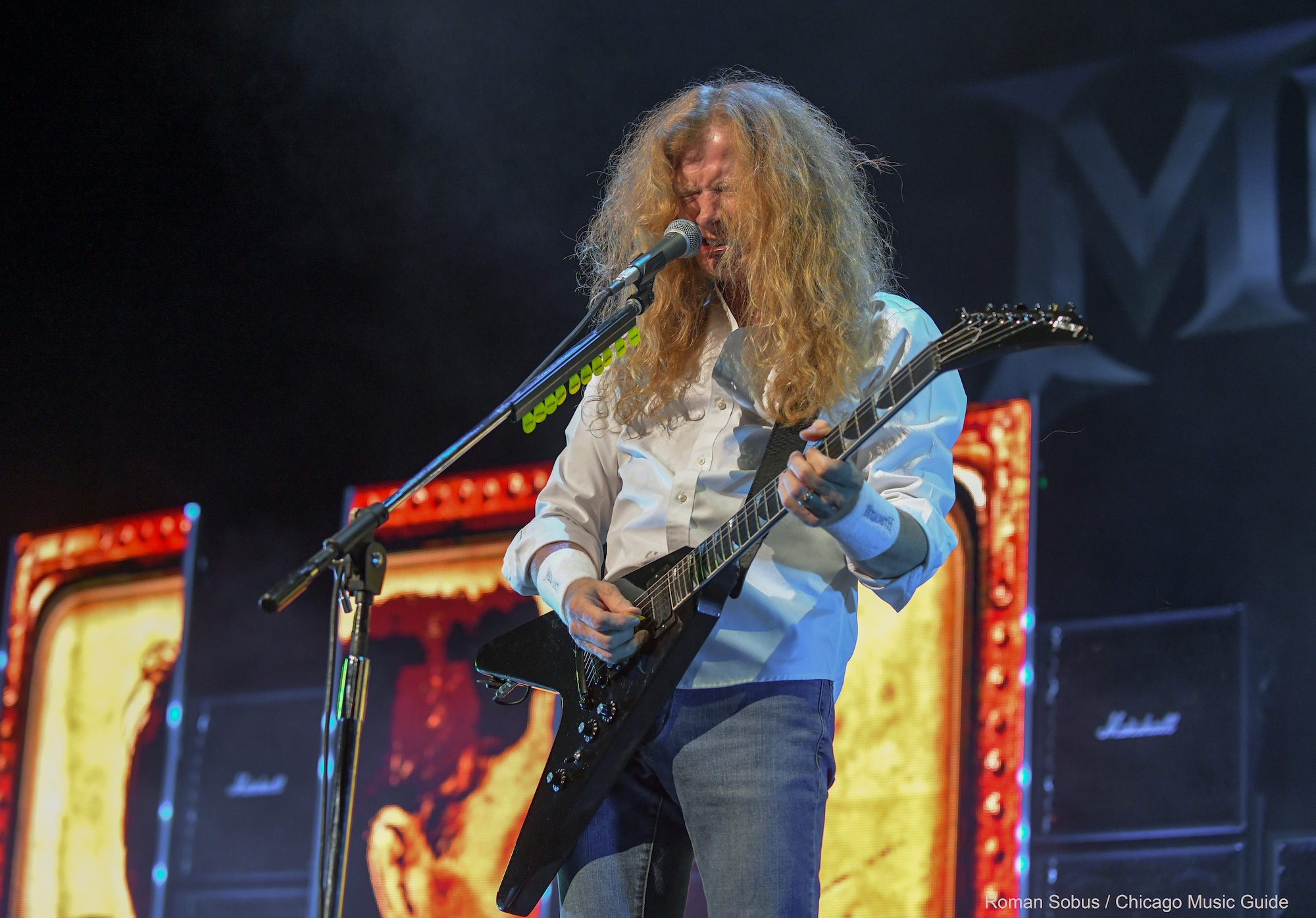 Megadeth Live at Hollywood Casino Amphitheatre [GALLERY] 18