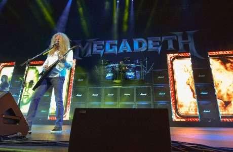 Megadeth Live at Hollywood Casino Amphitheatre