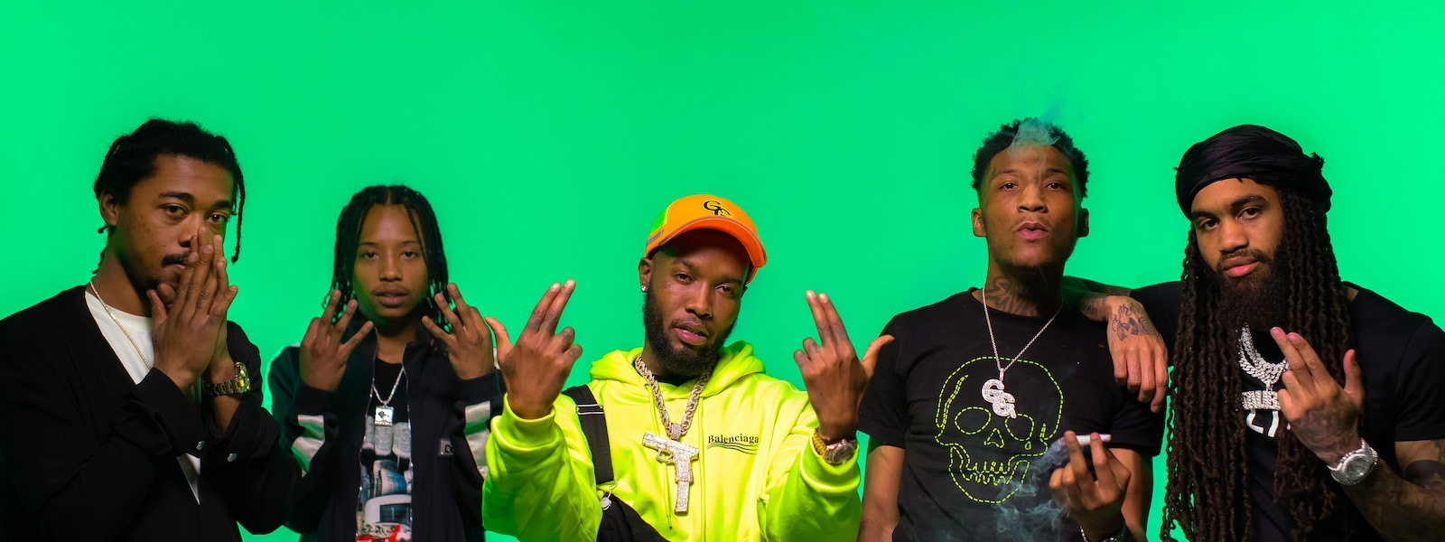Shy Glizzy and Glizzy Gang - No Feelings [Official Video]