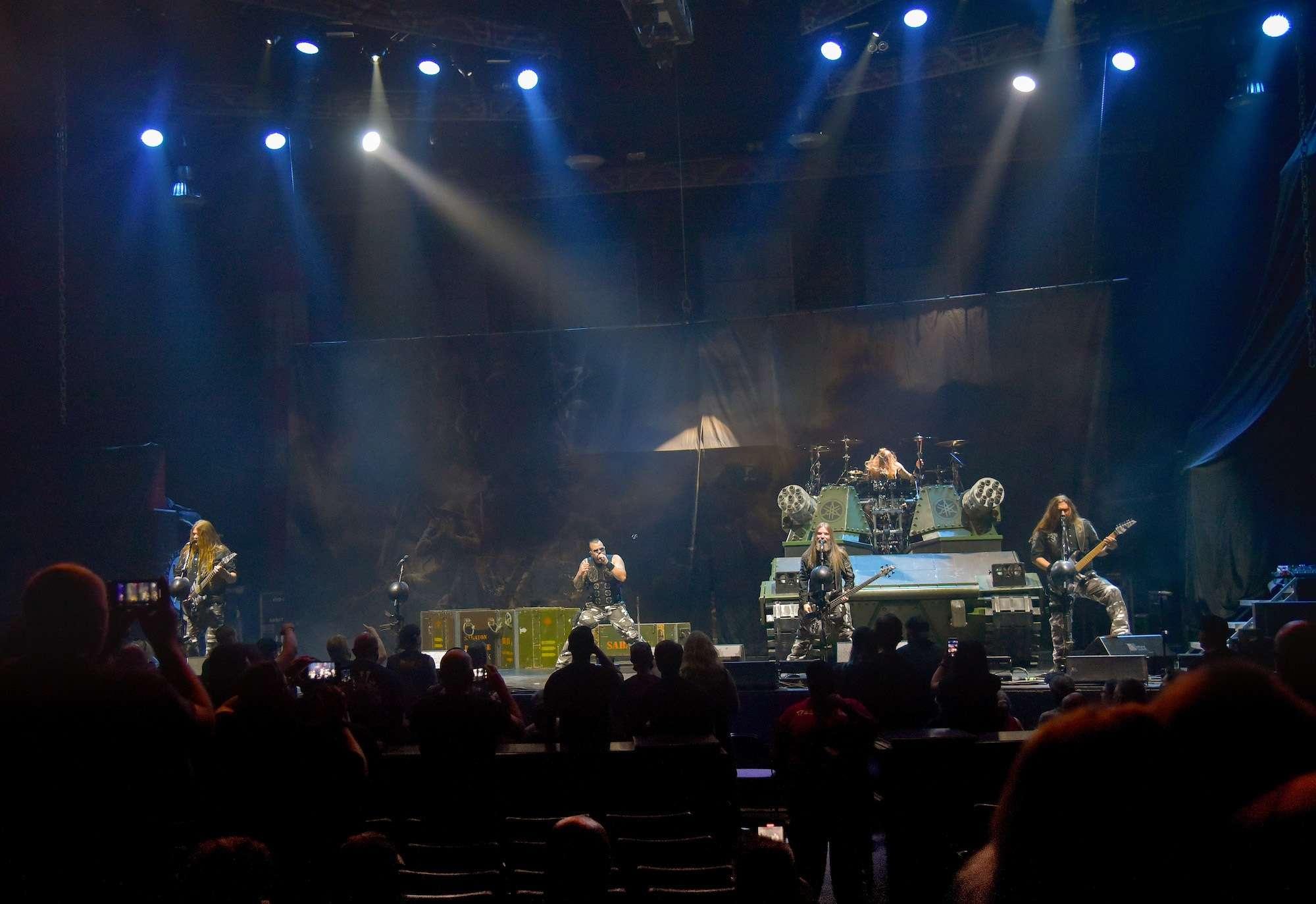 Sabaton Live at Rosemont Theatre [GALLERY] 2