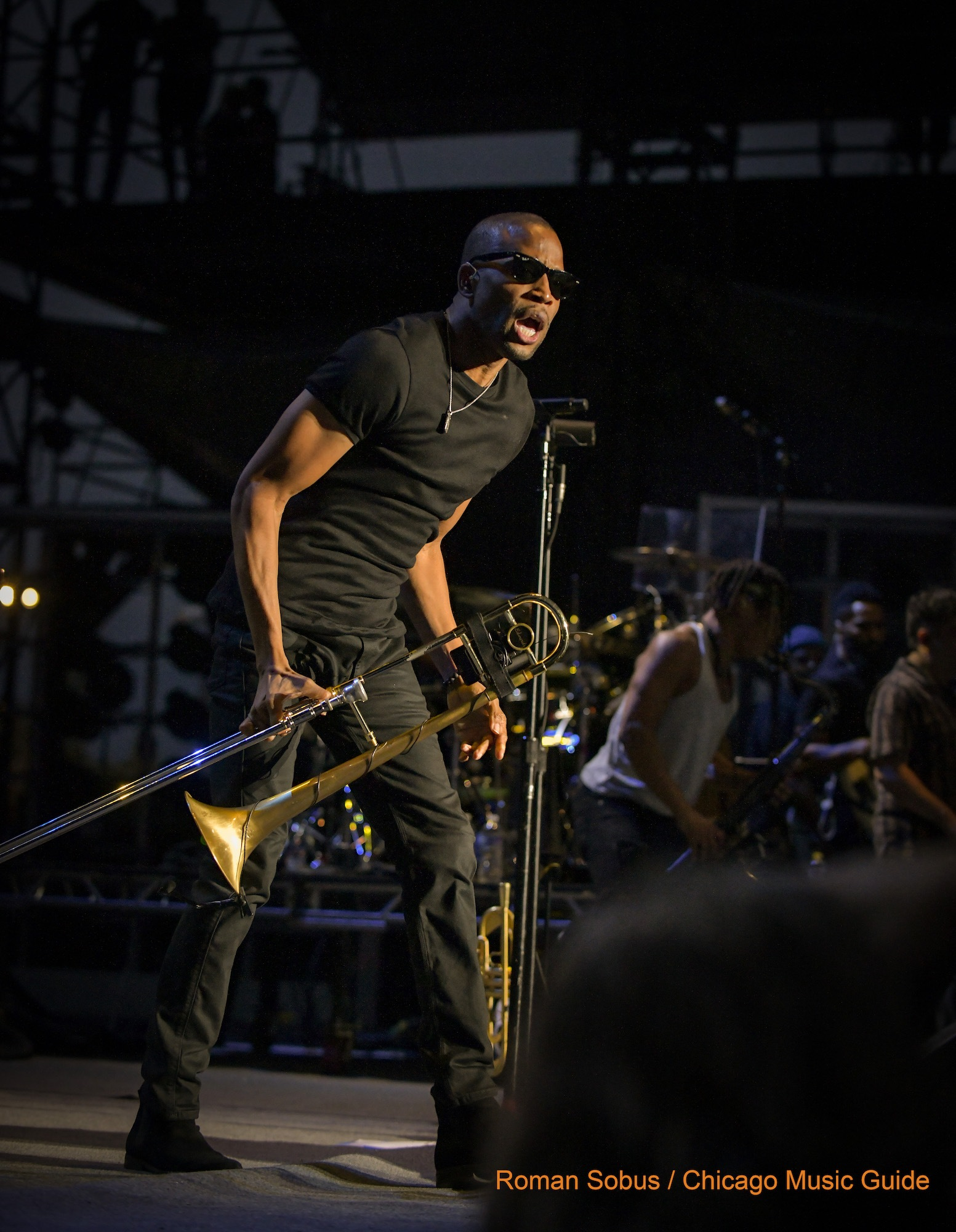 Trombone Shorty Live at Huntington Bank Pavilion [GALLERY] 5