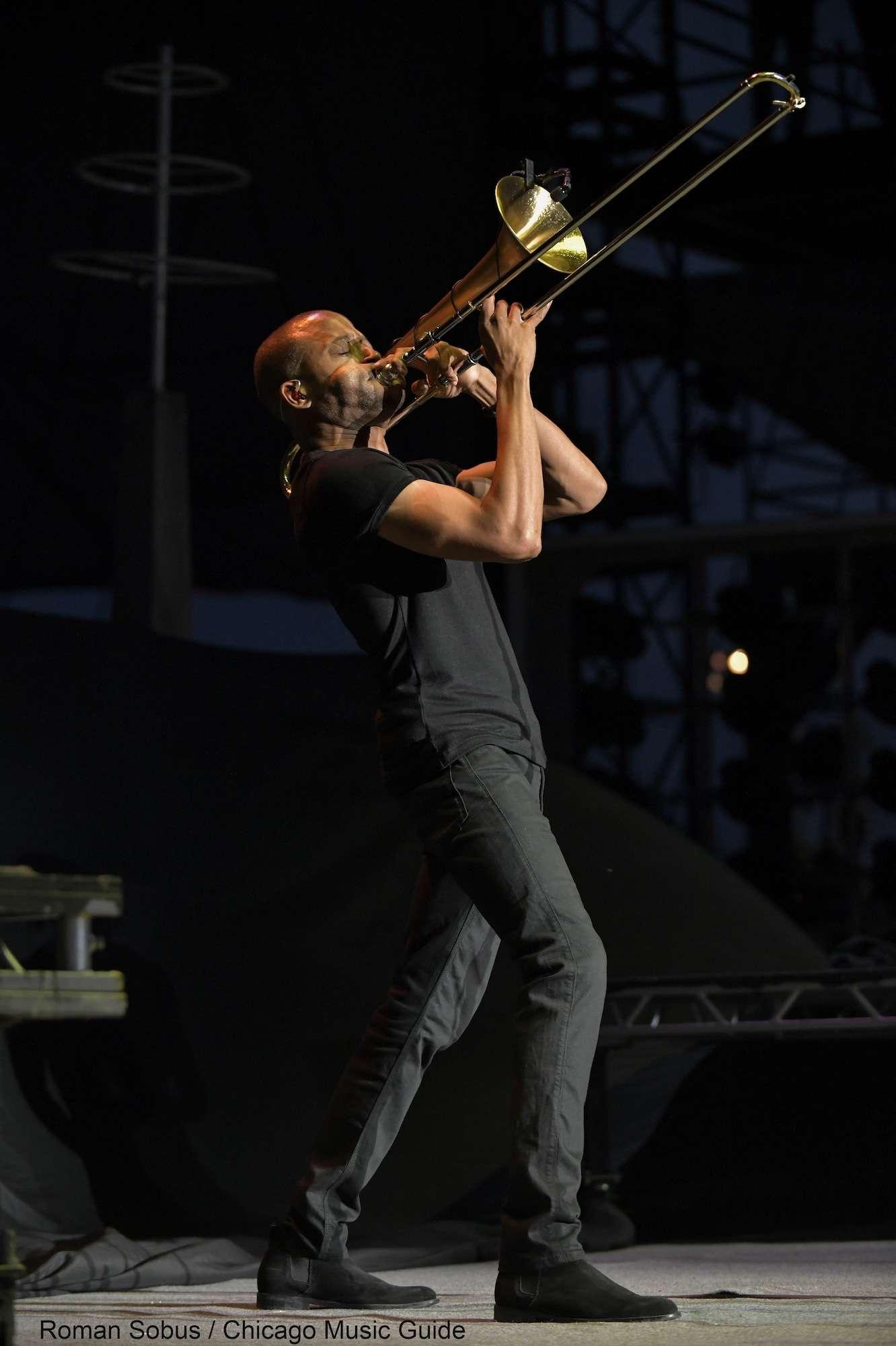 Trombone Shorty Live at Huntington Bank Pavilion [GALLERY] 7