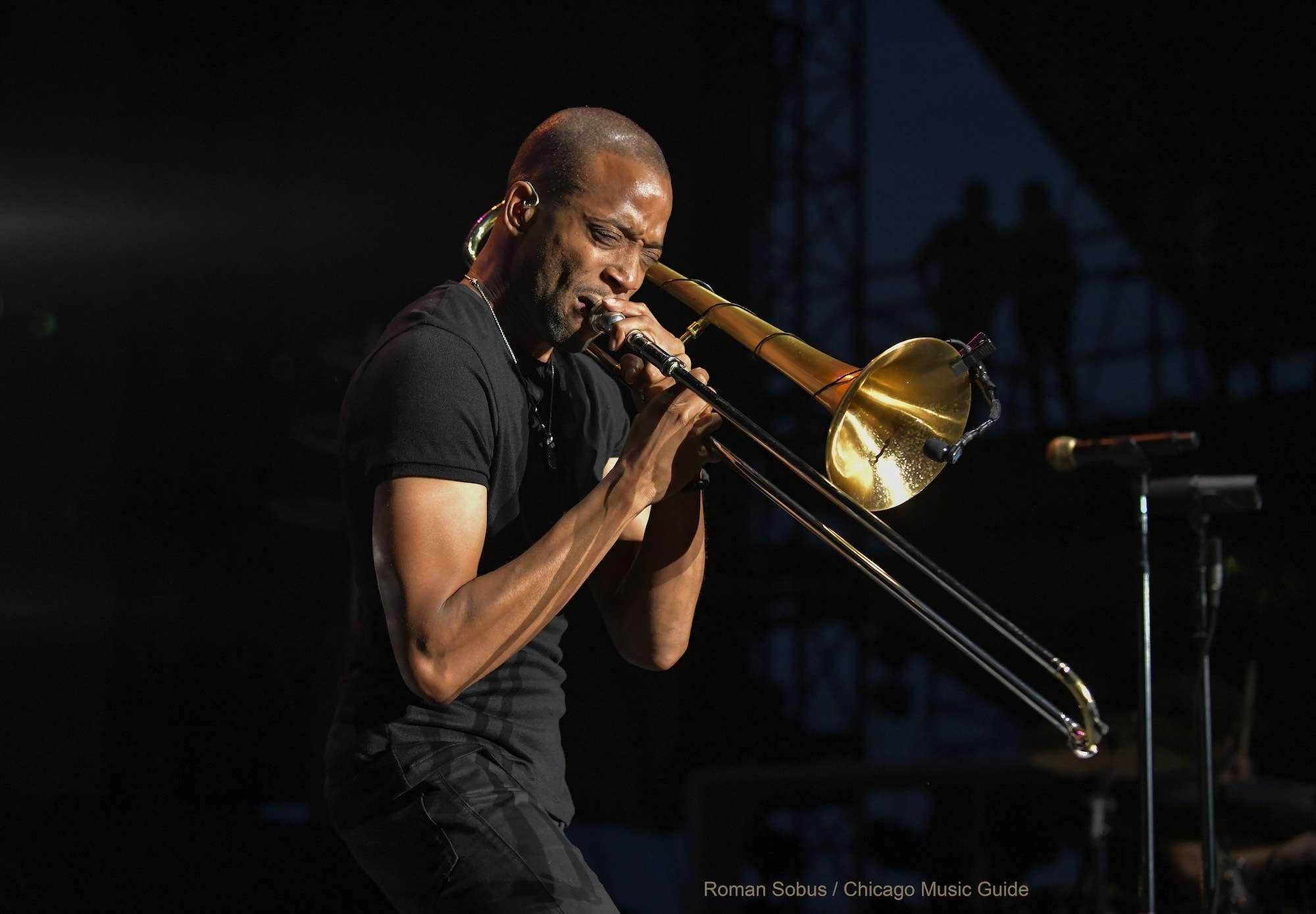 Trombone Shorty Live at Huntington Bank Pavilion [GALLERY] 13