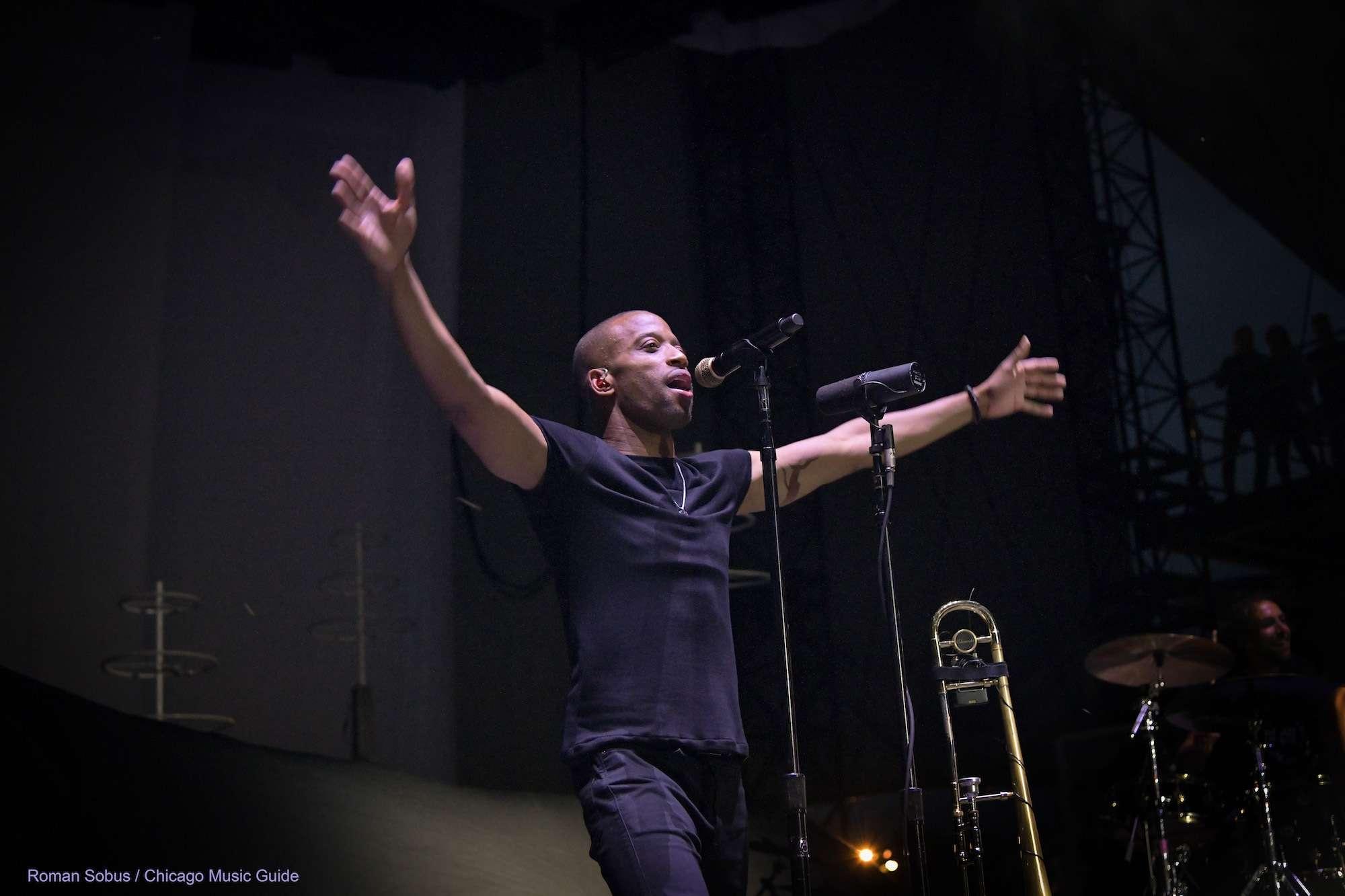 Trombone Shorty Live at Huntington Bank Pavilion [GALLERY] 16